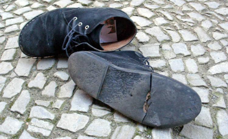 Sapato velho