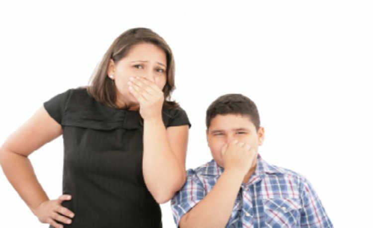 Odores desagradáveis