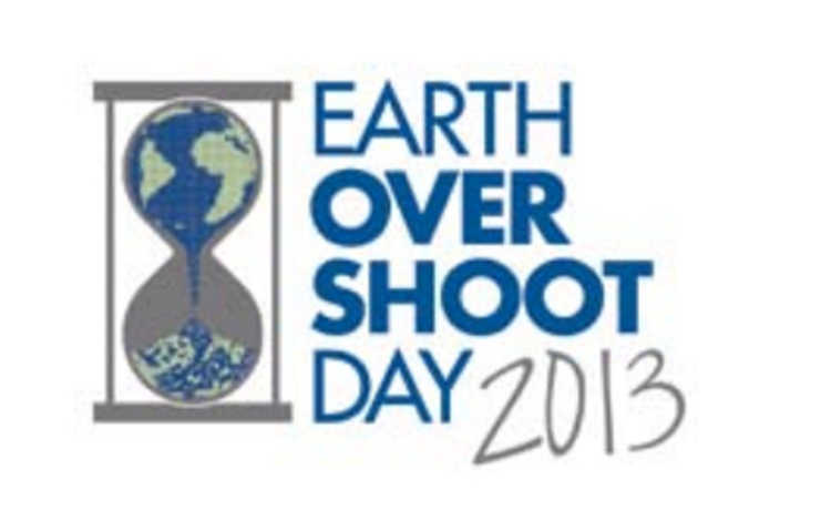 Earth Over Shoot Day 2013
