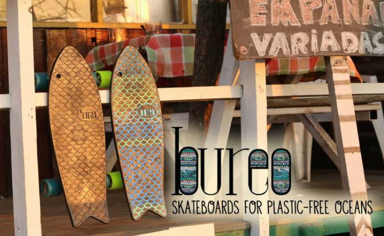 Os oceanos estão virando plástico. Pensando nisso, a Bureo Skateboards criou o Minnow