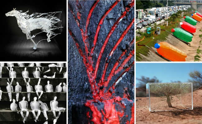 Obras de arte que se dedicam ao ativismo ambiental