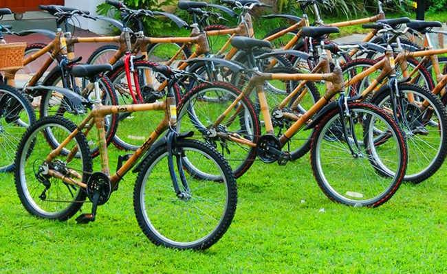 Em Gana, produção de bikes de bambu gera emprego e renda