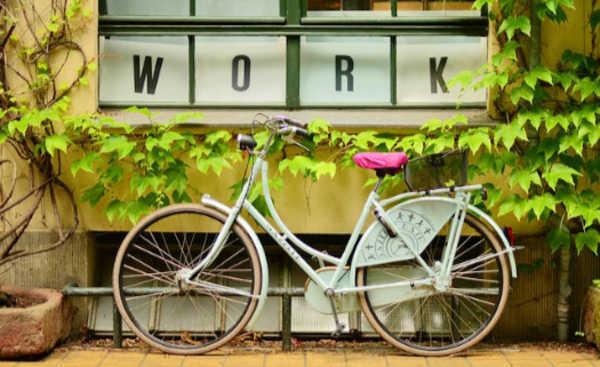 bike para o trabalho