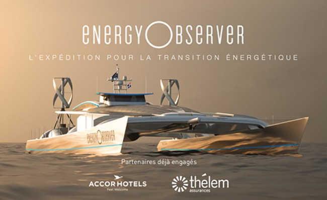 Energy Observer: Movido a hidrogênio e outras energias renováveis