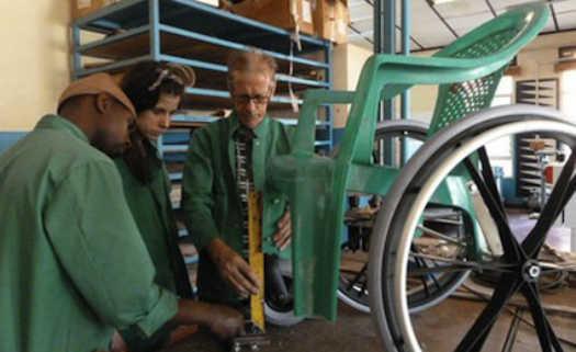 Cadeiras de rodas serão disponibilizadas para comunidades em Ruanda