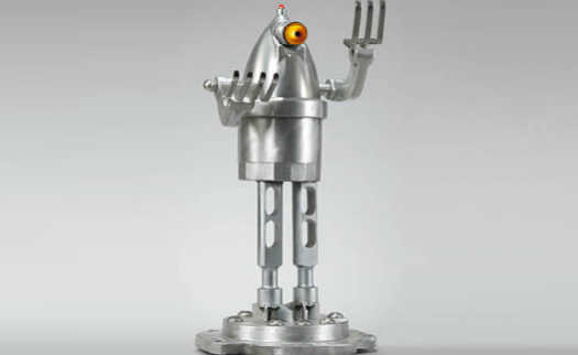 Artista Transforma Eletrodomésticos Antigos Em Esculturas De Robôs
