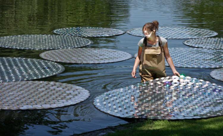 artista Bruce Munro ocupou o jardim botânico Longwood