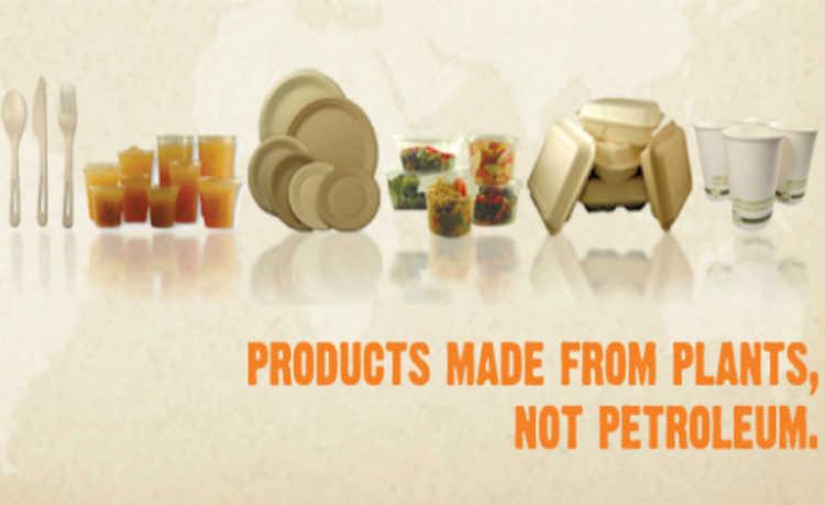Produtos feitos de plantas