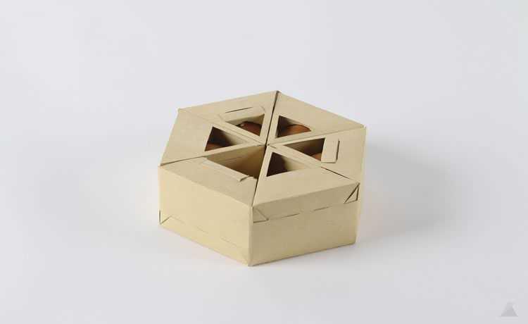 Designer Cria Caixa De Ovos Alternativa A Partir De Técnica De Origami