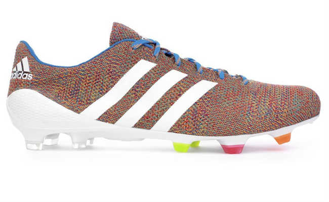 Adidas lança chuteira profissional feita com