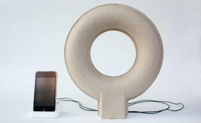 Pulpop: o alto-falante feito com papel reciclado