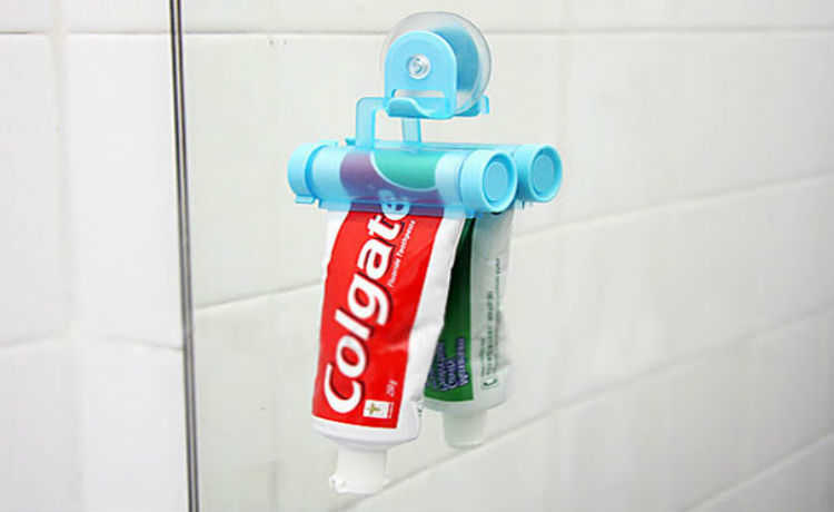 Porta-pasta de dente