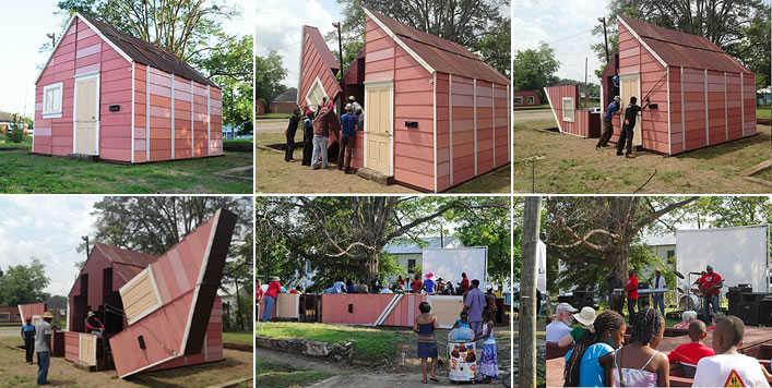 Open house: a casa que se transforma em um teatro ao ar livre
