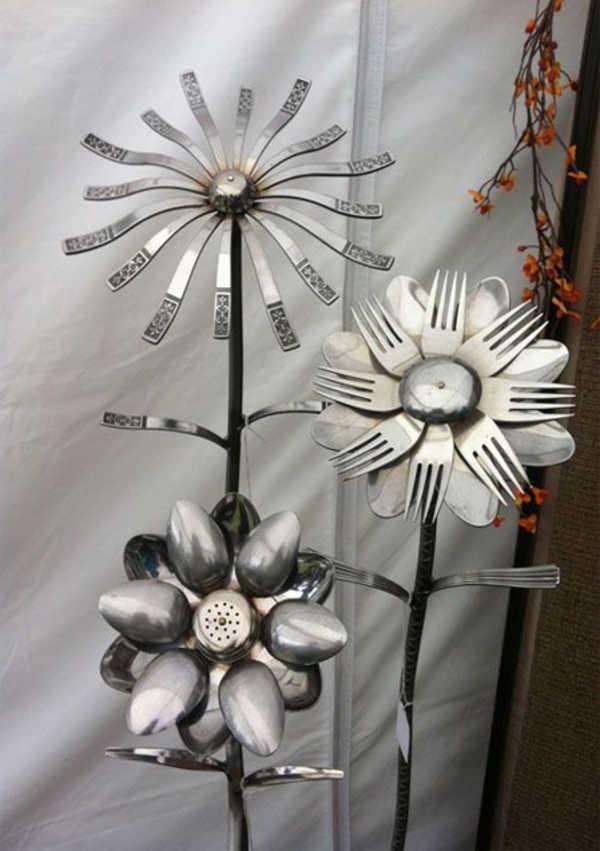 Algumas flores decorativas