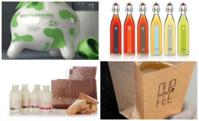 Embalagem reciclável e sustentável