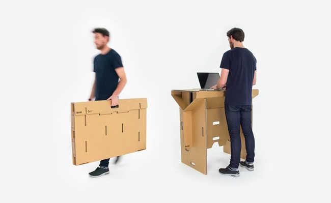 Refold: a bancada de trabalho sustentável e portátil