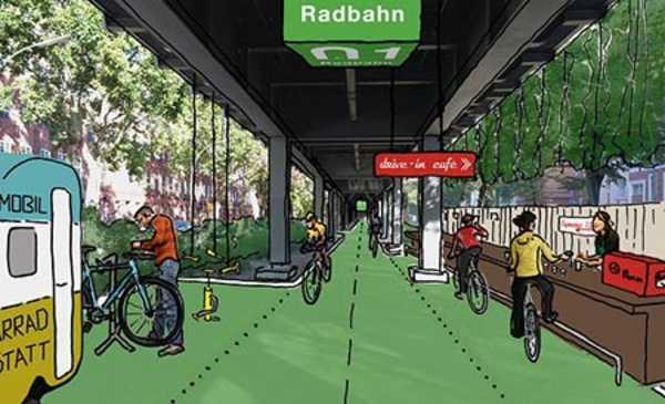 Projeto de ciclovia inteligente na Alemanha