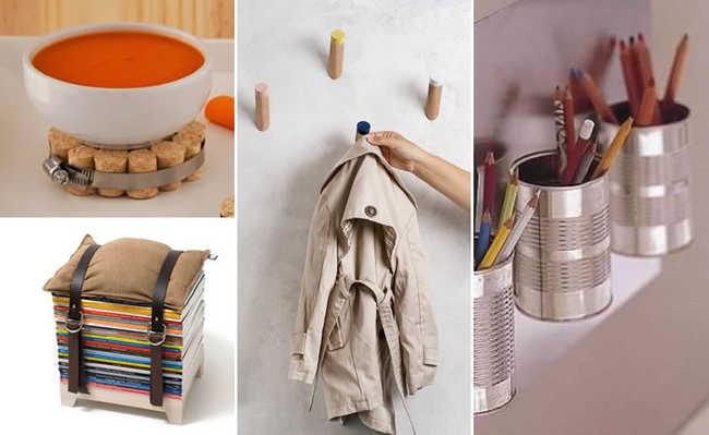 Confira como dar uma repaginada na decoração da sua casa com algumas dicas de reaproveitamento de objetos