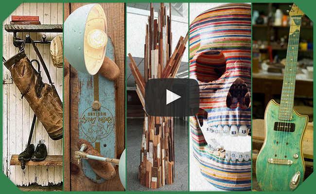 Cinco formas incríveis de reaproveitar madeira