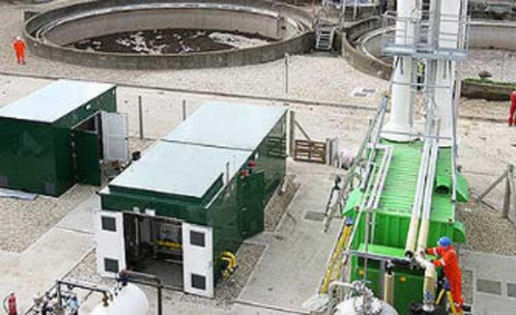 Cidade obtem energia a partir do gás metano. Energia supre necessidades da cidade