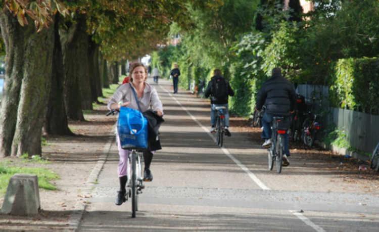 Super avenida para bicicletas