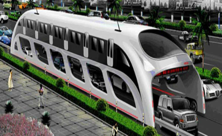 Transporte será feito sobre trilhos