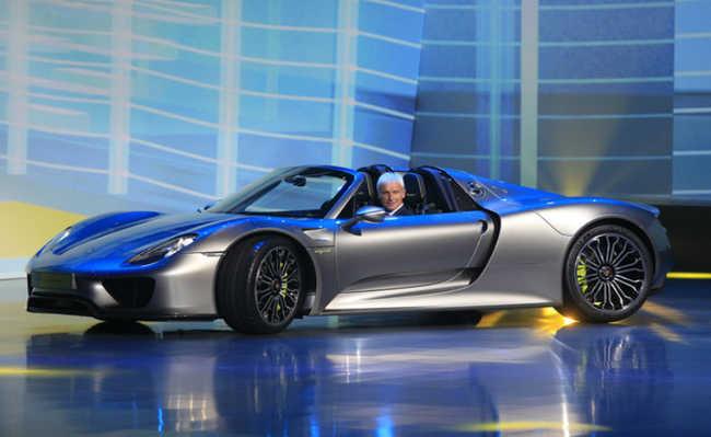Novo carro híbrido da Porsche