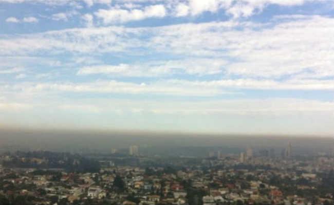 Poluição na cidade de São Paulo