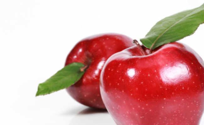 esfoliante de maçã