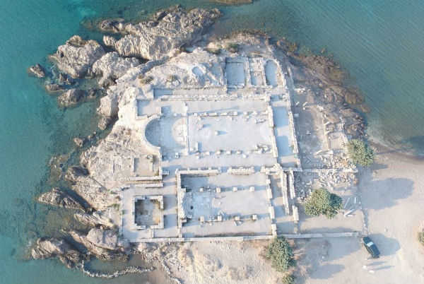 As ruínas da ilha Kos, na Grécia