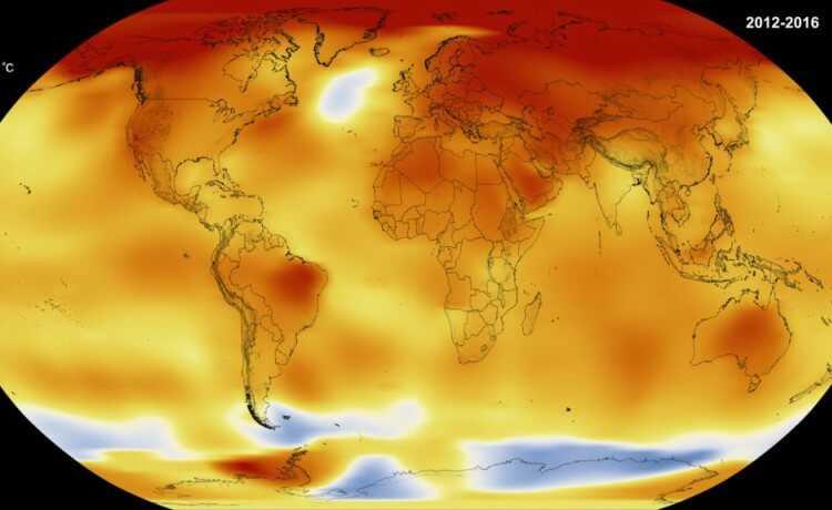 Mapa calor 2012 - 2016