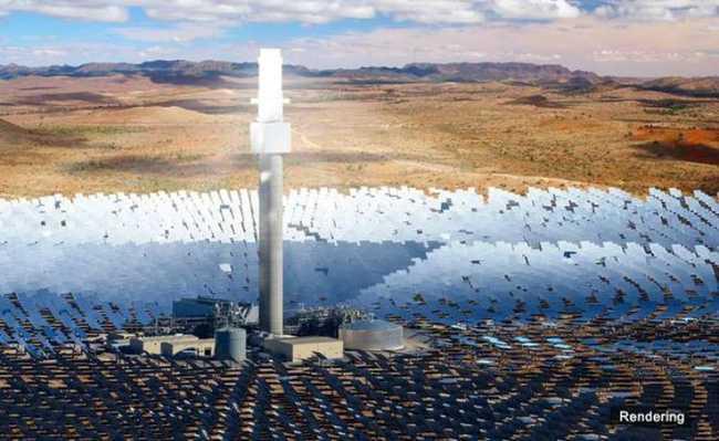 Usina solar de torre