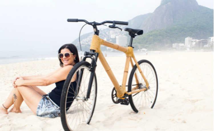Bambucicleta: a bike feita de bambu