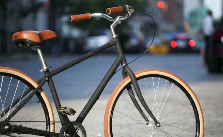 Priority: a bike que não precisa de manutenção