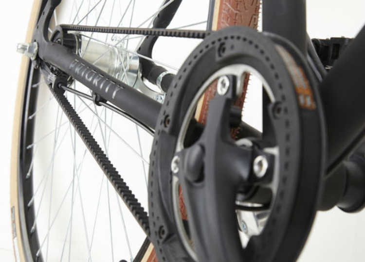Priority: a bike