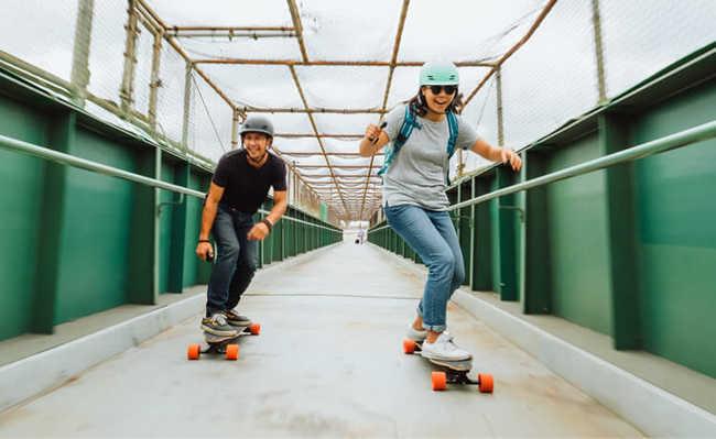 Boosted Board, o skate elétrico