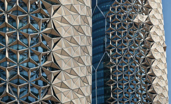 Al Bahar Towers abu dhabi aedas architects
