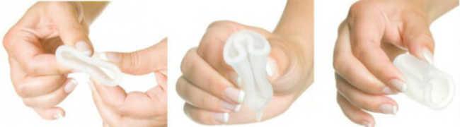 Como colocar o coletor menstrual