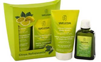 A Weleda tem uma linha de sabonetes líquidos sustentáveis