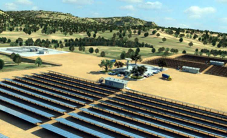 Primeira usina solar brasileira