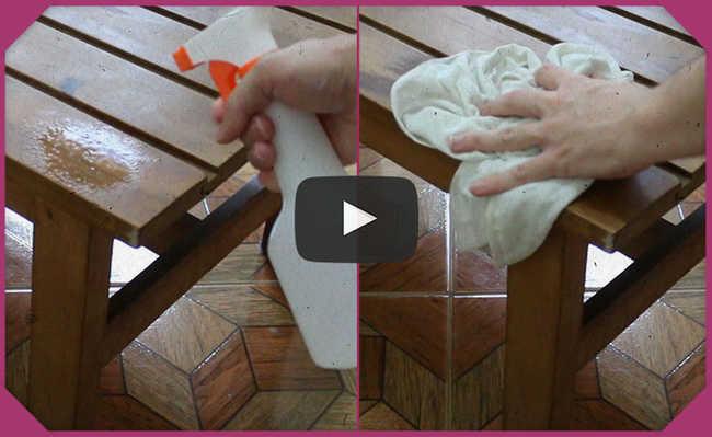 Produto de limpeza caseiro com bicarbonato