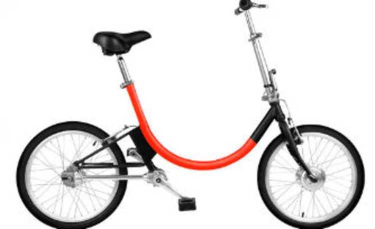E-bike é dobrável