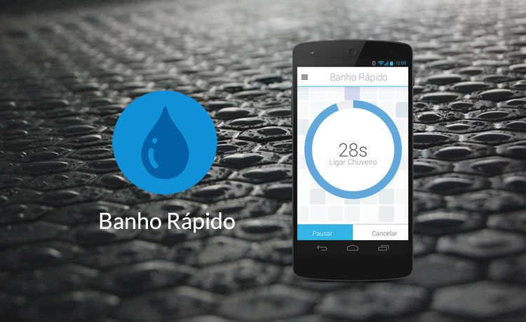 Aplicativo Banho Rápido