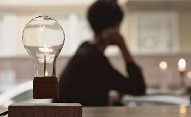 Flyte: a lâmpada LED que levita