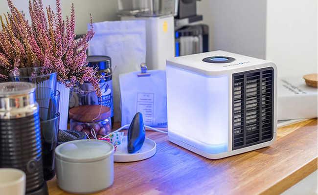 Evapolar: ar-condicionado portátil funciona com água e gasta pouca energia