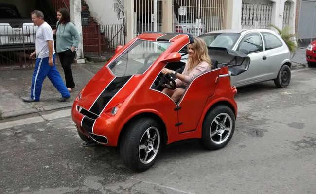 Nanico: carro elétrico compacto
