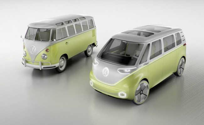 Volkswagen Kombi I.D. Buzz