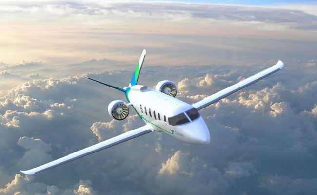 Protótipo de avião elétrico