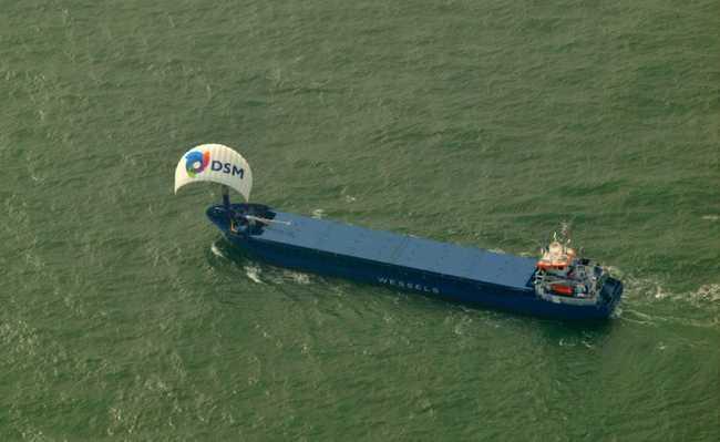 Pipa eólica da Sky Sails