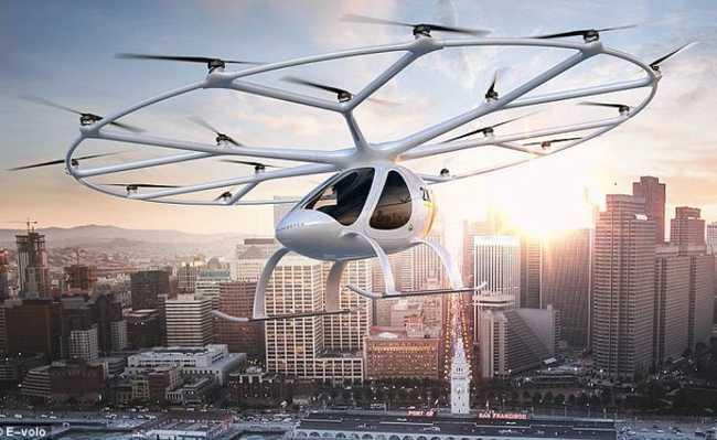 Táxi-drone